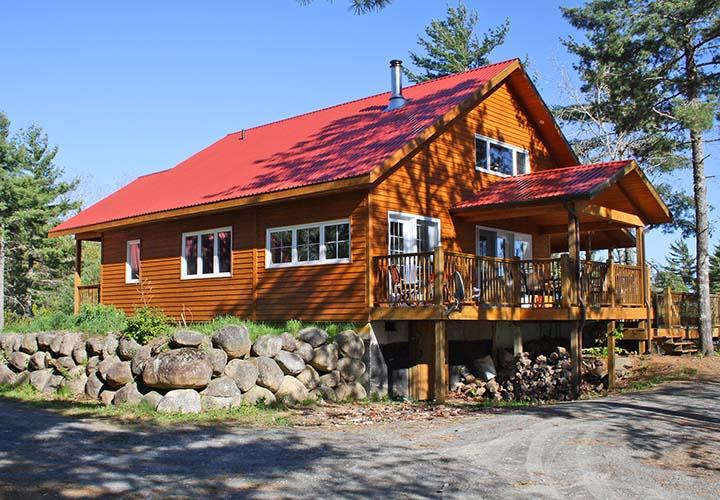 dean lake cottage erleben sie kanada direkt am see. Black Bedroom Furniture Sets. Home Design Ideas